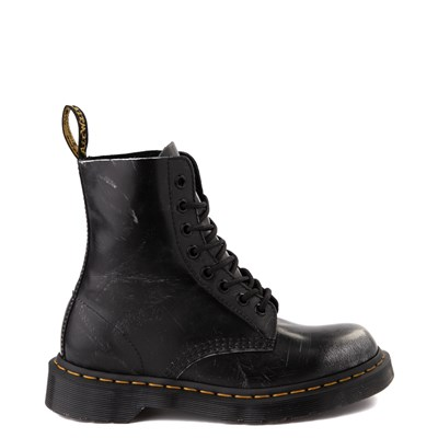 Main view of Dr. Martens 1460 8-Eye Italian Brush-Off Boot - Black