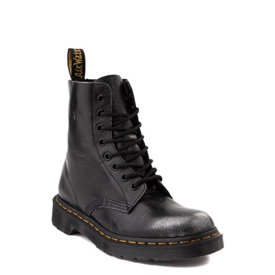 Alternate view of Dr. Martens 1460 8-Eye Italian Brush-Off Boot - Black