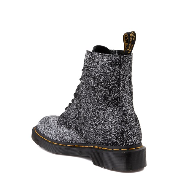 alternate view Dr. Martens 1460 8-Eye Splatter Chaos Boot - BlackALT2