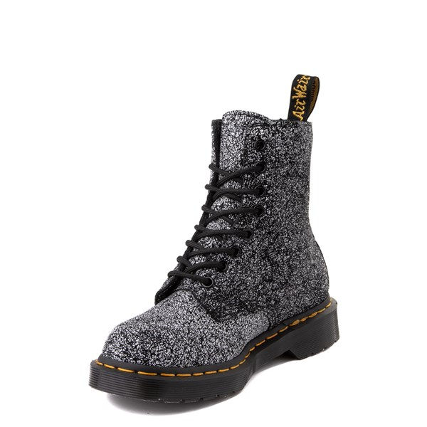 alternate view Dr. Martens 1460 8-Eye Splatter Chaos Boot - BlackALT3