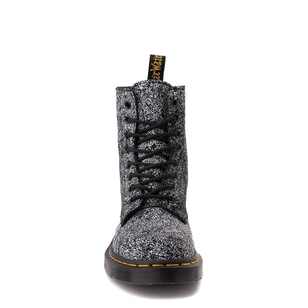 alternate view Dr. Martens 1460 8-Eye Splatter Chaos Boot - BlackALT4