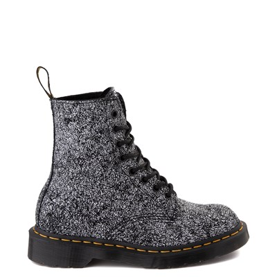 Main view of Dr. Martens 1460 8-Eye Splatter Chaos Boot - Black