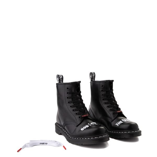 alternate view Dr. Martens 1460 8-Eye Sex Pistols Boot - BlackALT1