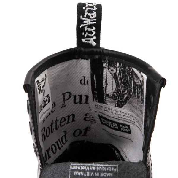 alternate view Dr. Martens 1460 8-Eye Sex Pistols Boot - BlackALT10