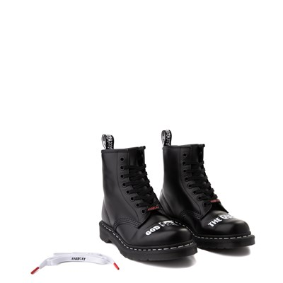 Alternate view of Dr. Martens 1460 8-Eye Sex Pistols Boot - Black
