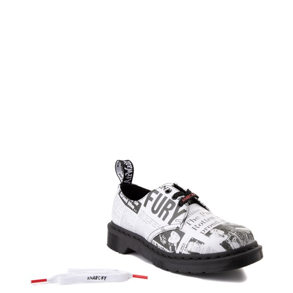 alternate view Dr. Martens 1461 Sex Pistols Casual Shoe - WhiteALT1