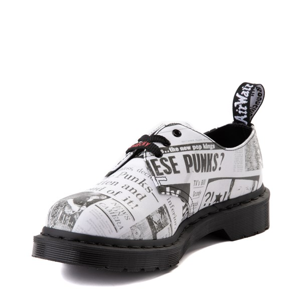 alternate view Dr. Martens 1461 Sex Pistols Casual Shoe - WhiteALT3