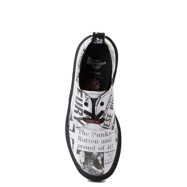 alternate view Dr. Martens 1461 Sex Pistols Casual Shoe - WhiteALT4B