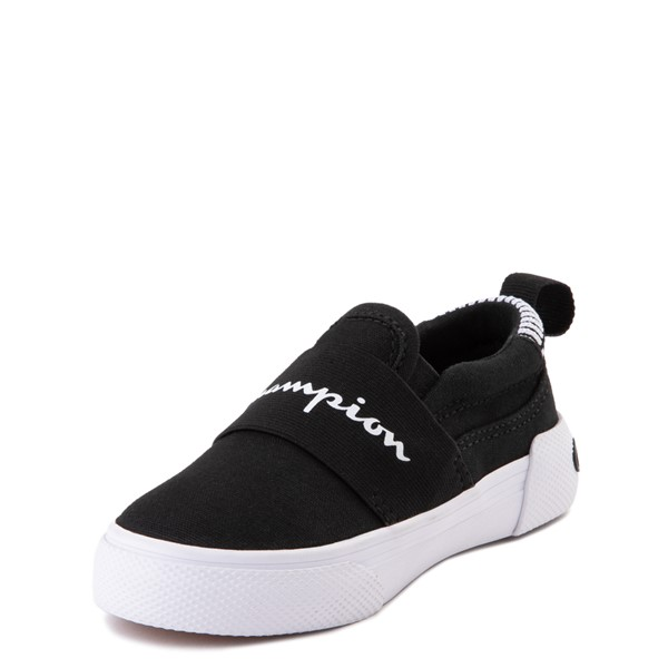 alternate view Champion Rally Slip On Athletic Shoe - Baby / Toddler - BlackALT2