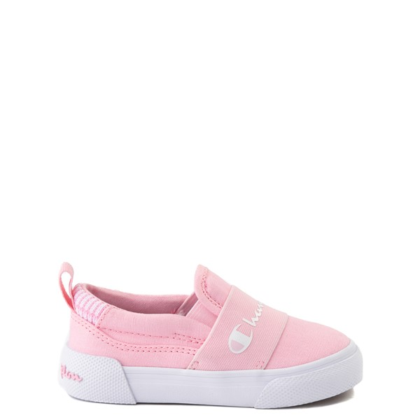 Main view of Champion Rally Slip On Athletic Shoe - Baby / Toddler - Pink