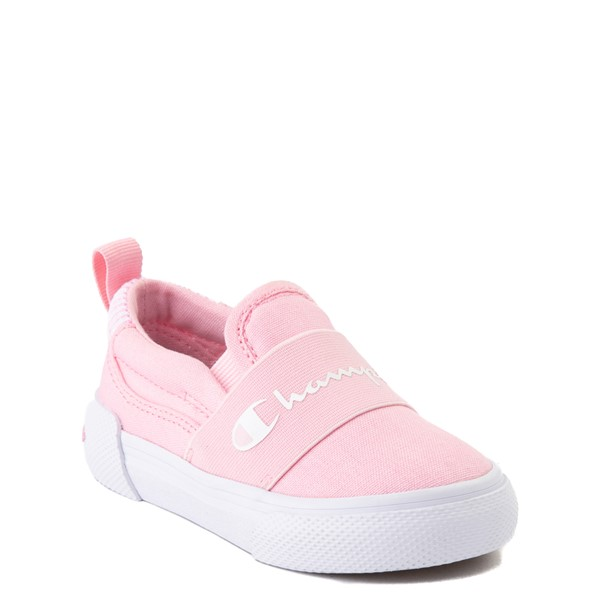 alternate view Champion Rally Slip On Athletic Shoe - Baby / Toddler - PinkALT1