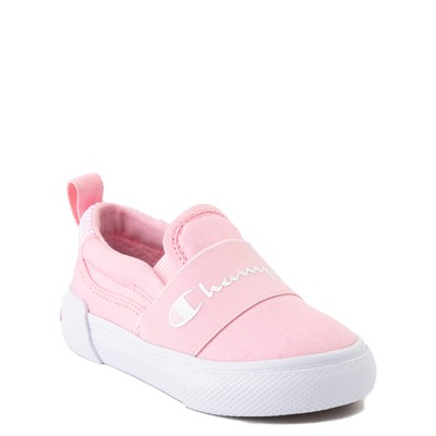 Alternate view of Champion Rally Slip On Athletic Shoe - Baby / Toddler - Pink