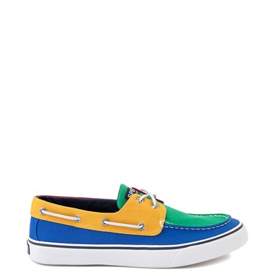 Main view of Mens Sperry Top-Sider Yacht Club Bahama Boat Shoe - Multi