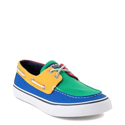 Alternate view of Mens Sperry Top-Sider Yacht Club Bahama Boat Shoe - Multi