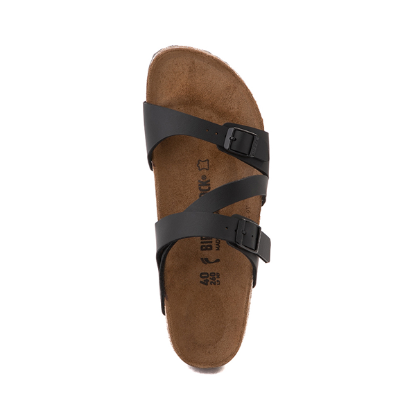alternate view Womens Birkenstock Salina Slide Sandal - BlackALT2