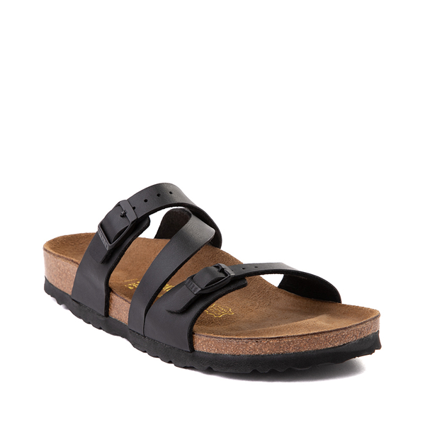 alternate view Womens Birkenstock Salina Slide Sandal - BlackALT5