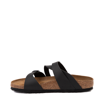 Alternate view of Womens Birkenstock Salina Slide Sandal - Black
