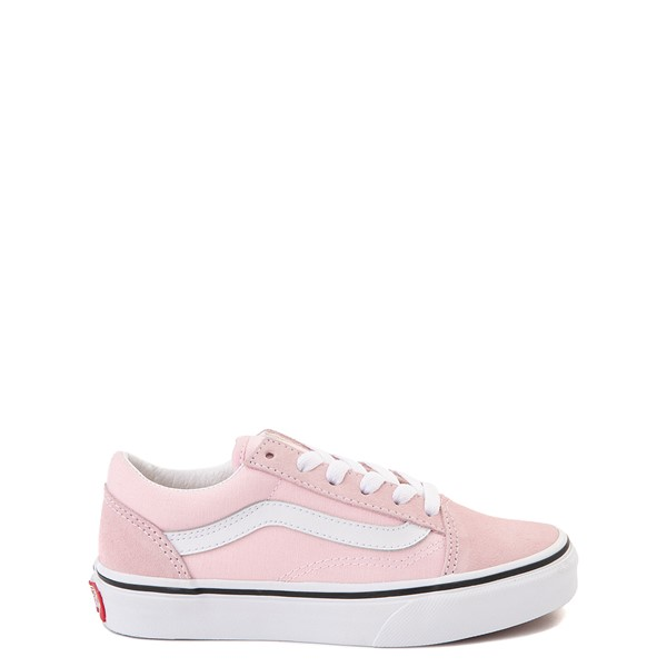 Main view of Vans Old Skool Skate Shoe - Little Kid - Blushing Pink