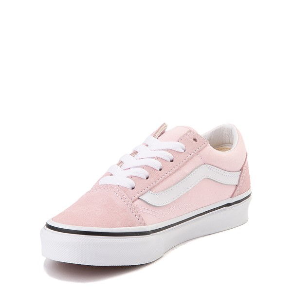 alternate view Vans Old Skool Skate Shoe - Little Kid - Blushing PinkALT2