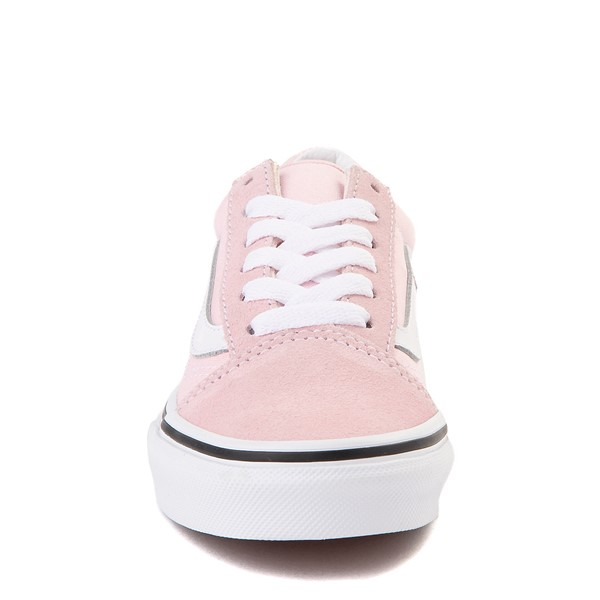 alternate view Vans Old Skool Skate Shoe - Little Kid - Blushing PinkALT4