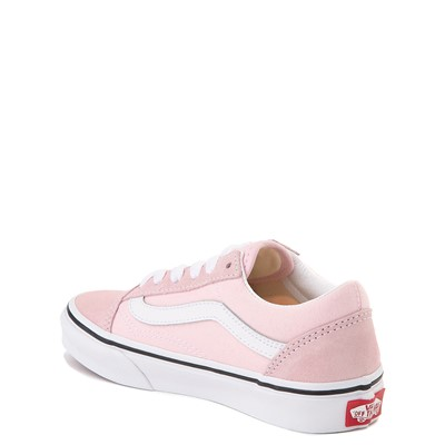 Alternate view of Vans Old Skool Skate Shoe - Little Kid - Blushing Pink