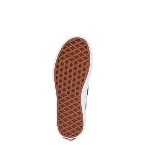 alternate view Vans Slip On Checkerboard Skate Shoe - Big Kid - Pale Iris / WhiteALT5