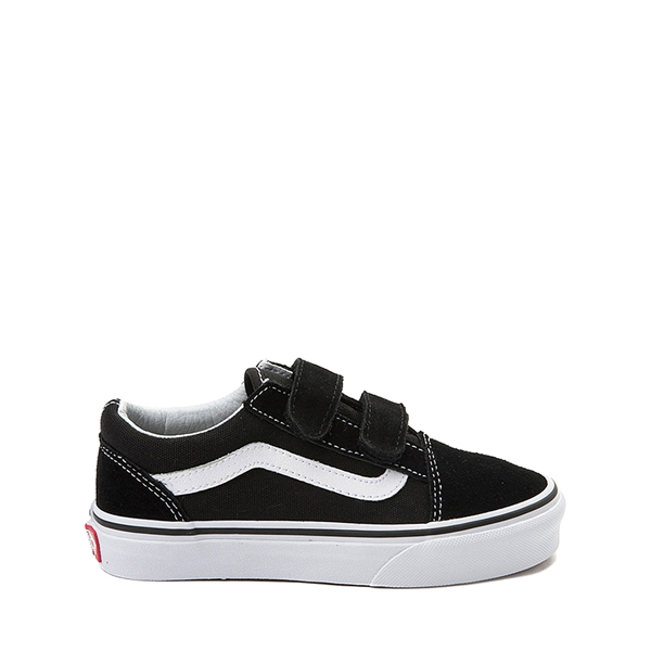 Default view of Vans Old Skool V Skate Shoe - Big Kid - Black