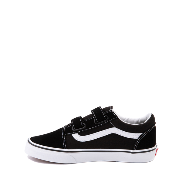 alternate view Vans Old Skool V Skate Shoe - Big Kid - BlackALT1