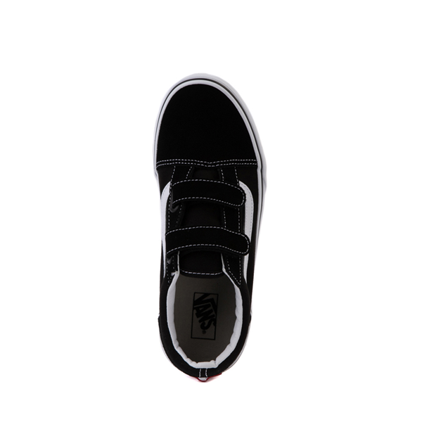 alternate view Vans Old Skool V Skate Shoe - Big Kid - BlackALT2