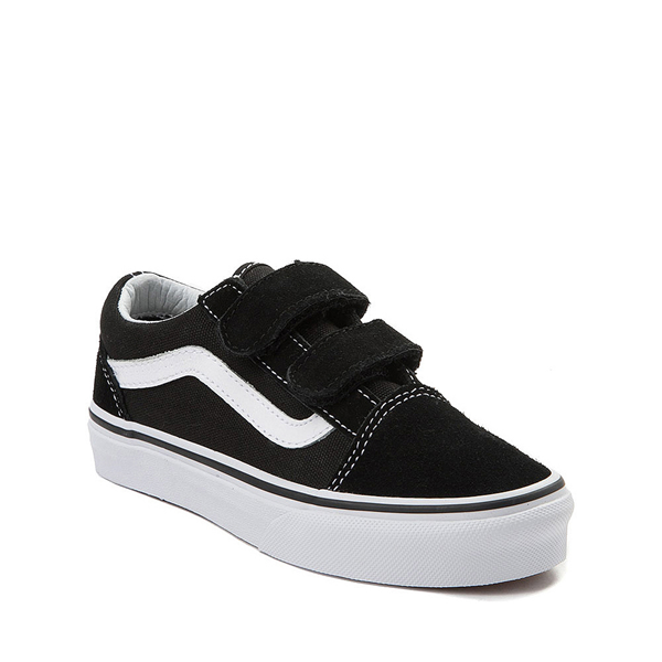 alternate view Vans Old Skool V Skate Shoe - Big Kid - BlackALT5