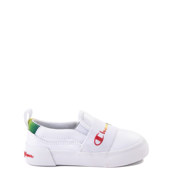 Champion Rally Slip On Athletic Shoe - Baby / Toddler - White / Multi
