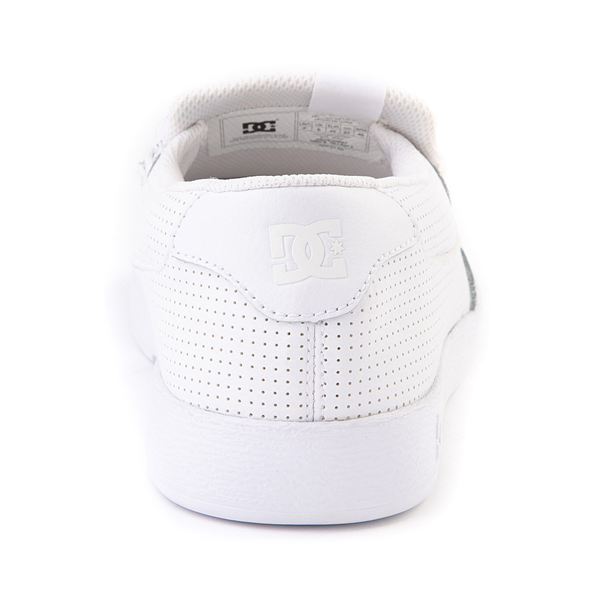 alternate view Mens DC Villain 2 Skate Shoe - WhiteALT4