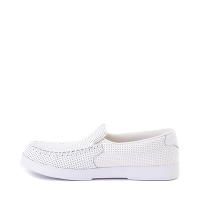 Alternate view of Mens DC Villain 2 Skate Shoe - White