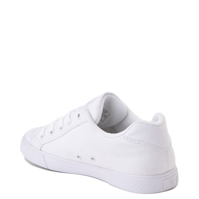 Alternate view of Womens DC Chelsea TX Skate Shoe - White / Silver