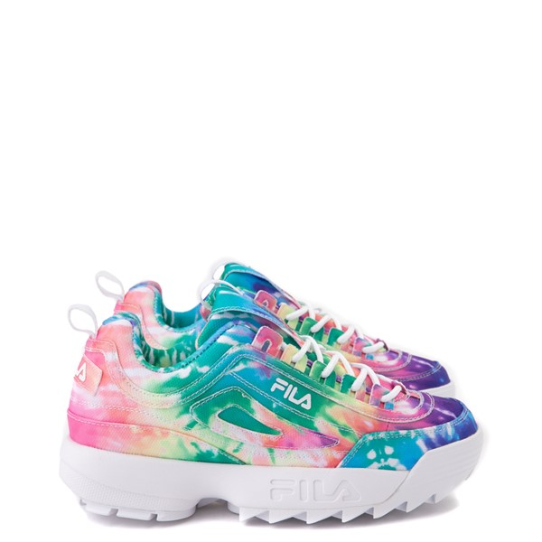 Womens Fila Disruptor 2 Athletic Shoe - Tie Dye