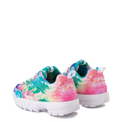 Alternate view of Womens Fila Disruptor 2 Tie Dye Athletic Shoe - Multi