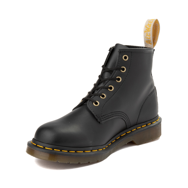 alternate view Dr. Martens 101 6-Eye Vegan Boot - BlackALT2