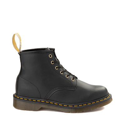 Main view of Dr. Martens 101 6-Eye Vegan Boot - Black