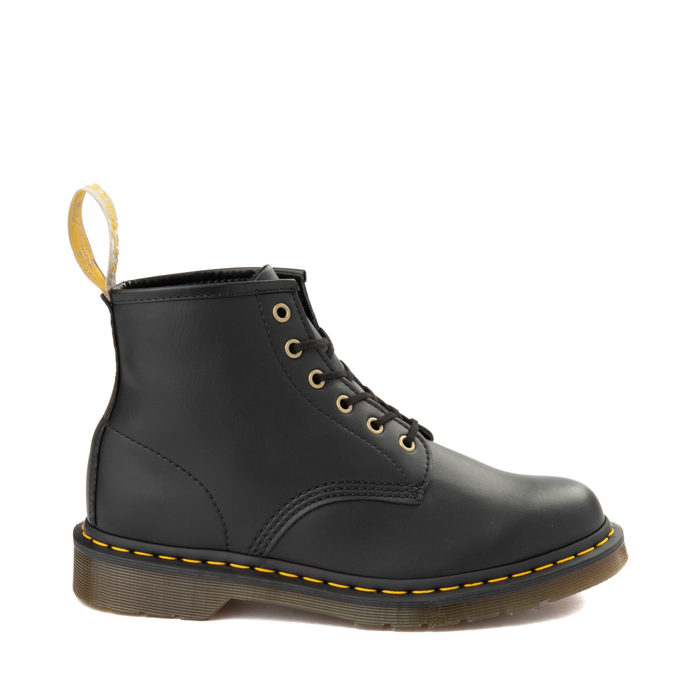 Dr. Martens 101 6-Eye Vegan Boot - Black