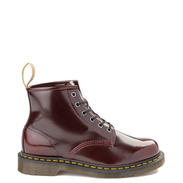 Main view of Dr. Martens 101 6-Eye Vegan Boot - Cherry