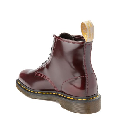 Alternate view of Dr. Martens 101 6-Eye Vegan Boot - Cherry