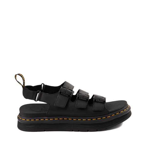 Main view of Mens Dr. Martens Soloman Sandal - Black