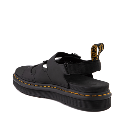 Alternate view of Mens Dr. Martens Soloman Sandal - Black