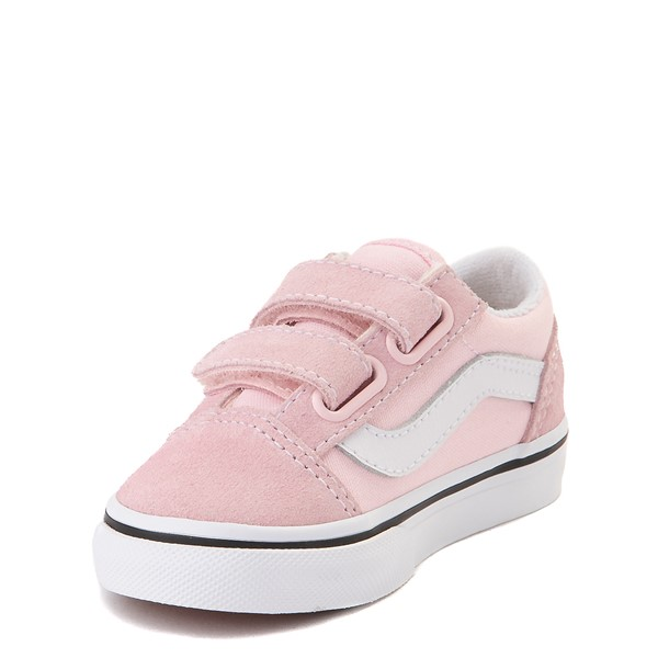 alternate view Vans Old Skool V Skate Shoe - Baby / Toddler - Blushing PinkALT2