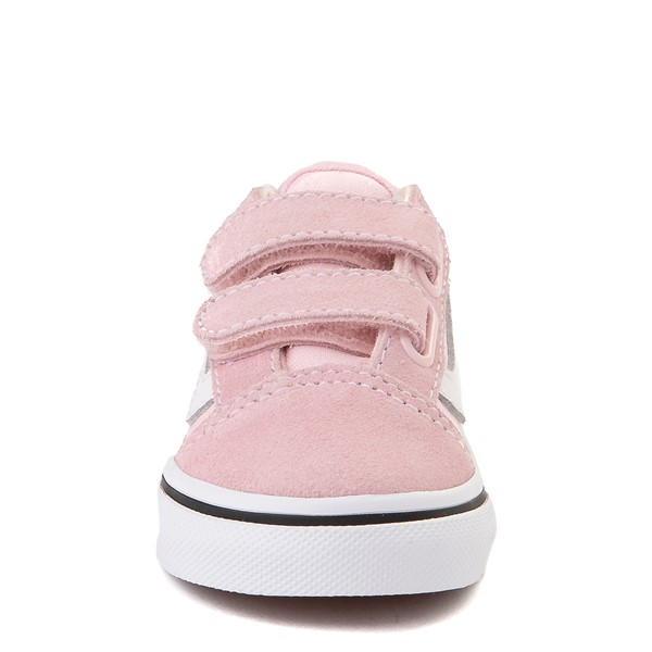 alternate view Vans Old Skool V Skate Shoe - Baby / Toddler - Blushing PinkALT4