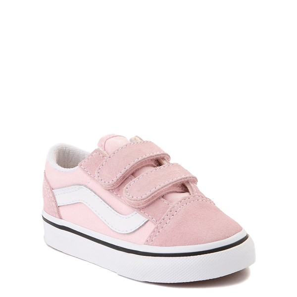 alternate view Vans Old Skool V Skate Shoe - Baby / Toddler - Blushing PinkALT5