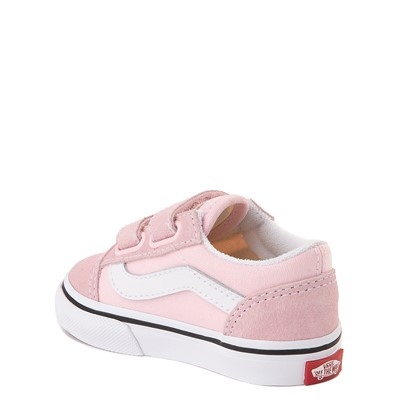 Alternate view of Vans Old Skool V Skate Shoe - Baby / Toddler - Blushing Pink