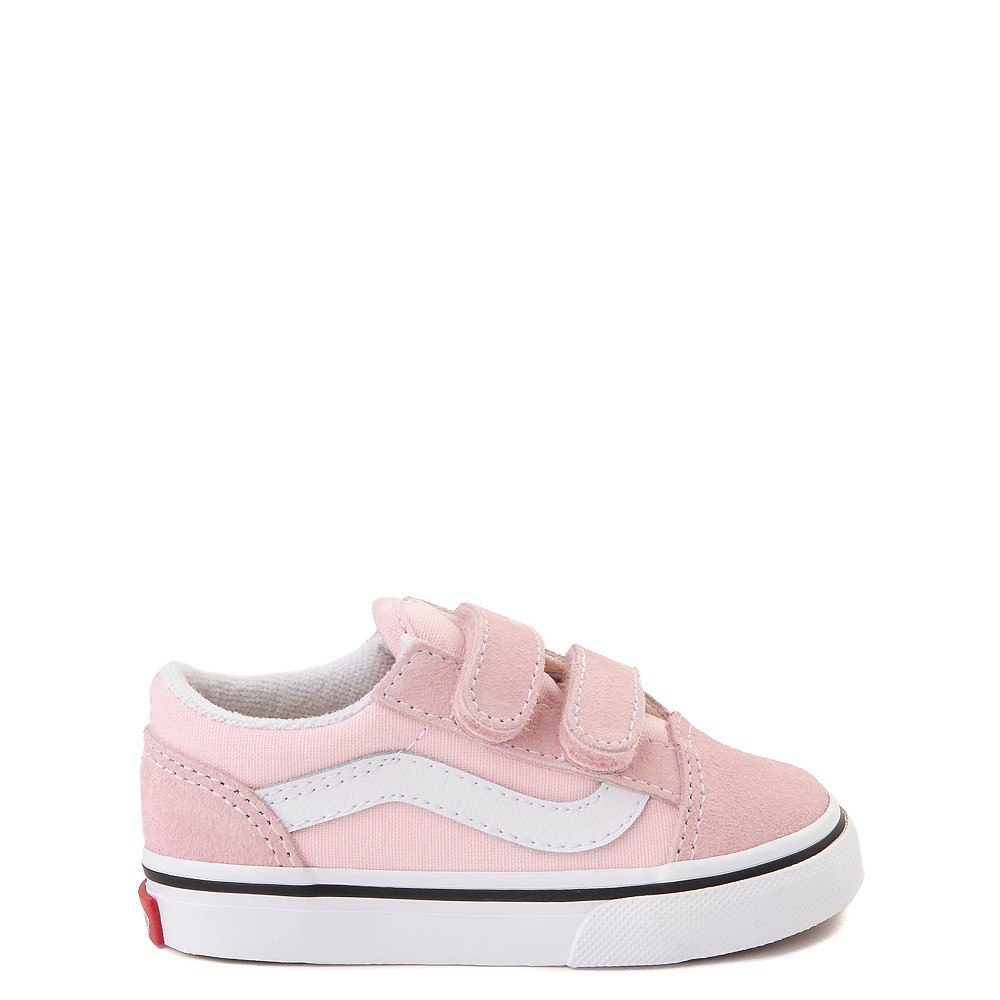 Vans Old Skool V Skate Shoe - Baby / Toddler - Blushing Pink