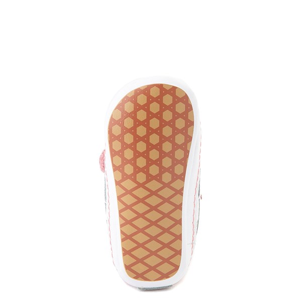 alternate view Vans Sk8 Hi V Shark Party Skate Shoe - Baby - PinkALT5