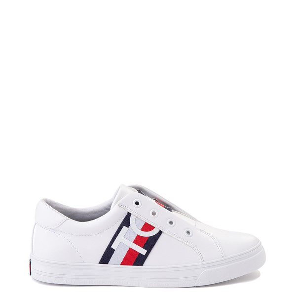 Womens Tommy Hilfiger Olene Slip On Casual Shoe - White